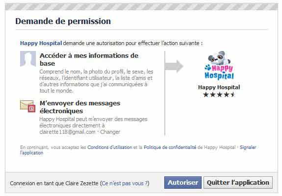 demande autorisation happy hospital.JPG